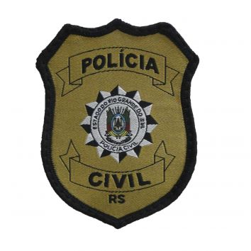 Distintivo da Policia Civil